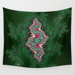 Fractal Serpent Wall Tapestry
