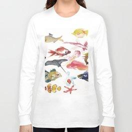 Fishy gathering Long Sleeve T-shirt