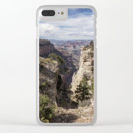 A Vertical View - Grand Canyon Clear iPhone Case