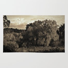Weeping Willow Landscape Rug