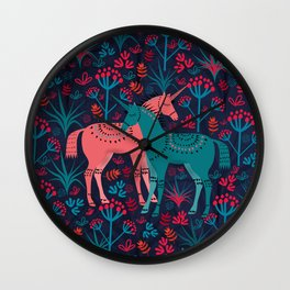 Unicorn Land Wall Clock