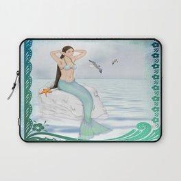 Seaside Mermaid Laptop Sleeve