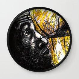 Basketballer LBJ Wall Clock