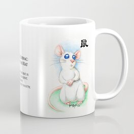 Chinese Zodiac Year of the Rat Coffee Mug