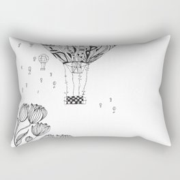 balloon trip Rectangular Pillow