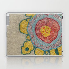 Growing - Pinus 1 - plant cell embroidery Laptop & iPad Skin