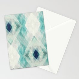 pastel art, pastel abstract, watercolor art print, Abstract art, blue abstract, abstract print Stationery Cards