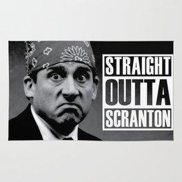 Straight Outta Scranton Rug