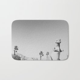RAWR / Cabazon Dinosaurs, California Bath Mat