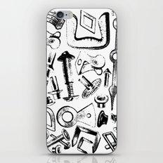 Hardware Black iPhone Skin