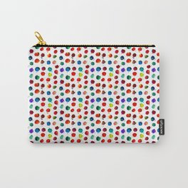 Abstract watercolor circles Carry-All Pouch