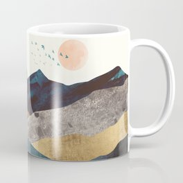 Blue Mountain Reflection Coffee Mug