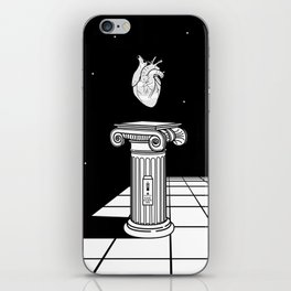 Please use with care iPhone Skin