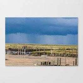 Distant Rains Canvas Print