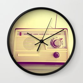 Radio Ga Ga Wall Clock