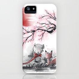 Sakura friends iPhone Case