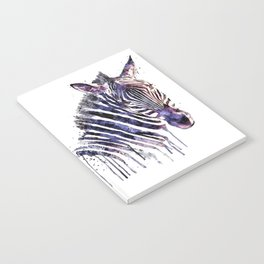 Zebra Head Notebook
