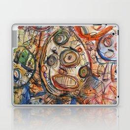 Faces Faces Laptop & iPad Skin