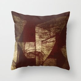 Bicho Papão Throw Pillow