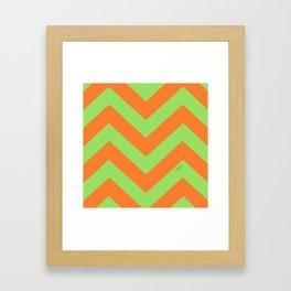 ZagZig Framed Art Print