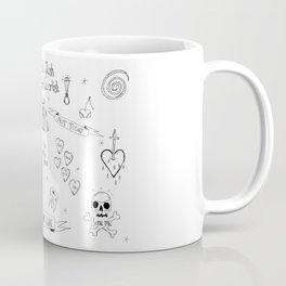 Terrible tattoo flash Coffee Mug