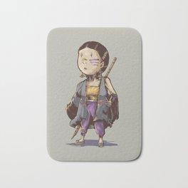 asian girl adventurer Bath Mat