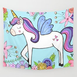 Magical Unicorn Wall Tapestry