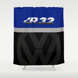 R32 Golf Shower Curtain