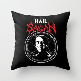HAIL SAGAN Throw Pillow