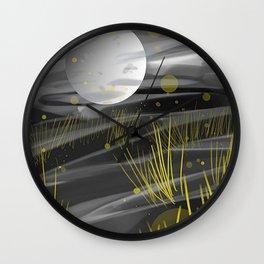 Mondgras - Dig Kunst Wall Clock