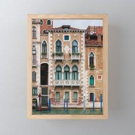 Venice Architecture Framed Mini Art Print