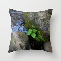 tennessee Throw Pillows featuring Tennessee Creek by The Magic of Nature & The True You