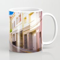 spain Mugs featuring Spain by Nskey