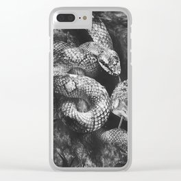 Sweet Temptation Clear iPhone Case