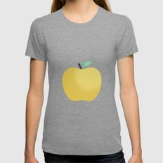 Apple 22 Womens Fitted Tee Tri-Grey SMALL