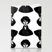 sherlock Stationery Cards featuring Sherlock by Blanca Limón