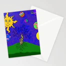 Tree and Sky Stationery Cards