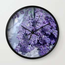 lavande 2 Wall Clock