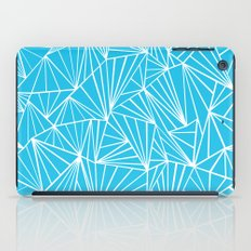 Ab Fan Electric Blue iPad Case