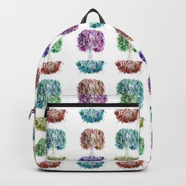4 Trees - Watercolors Backpack