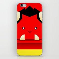 Oni of Hungry Oni iPhone & iPod Skin