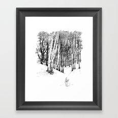 Forest of Death Framed Art Print