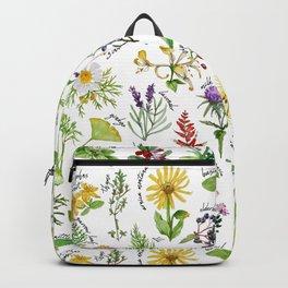Plants & Herbs Alphabet Backpack