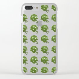 American Football Clear iPhone Case