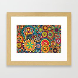 Colours ! Framed Art Print