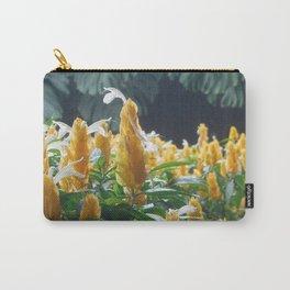 Golden Shrimp Plant Carry-All Pouch