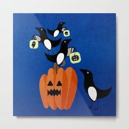 Halloween Birds #4 Metal Print