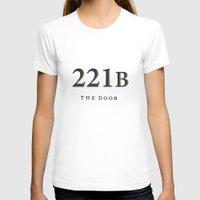 221b T-shirts featuring No. 6. 221B by F. C. Brooks