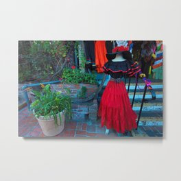 Olvera Street Los Angeles Metal Print