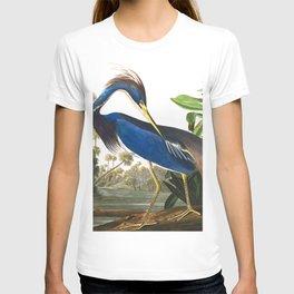 Louisiana Heron by John James Audubon T-shirt